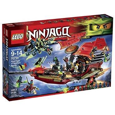 LEGO Ninjago Final Flight of Destiny's Bounty (70738)