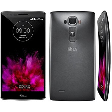 LG G Flex2 Curved H950 32GB Unlocked GSM 4G LTE Octa-Core Android Phone w/ 13MP Camera (Black/Platinum Silver)