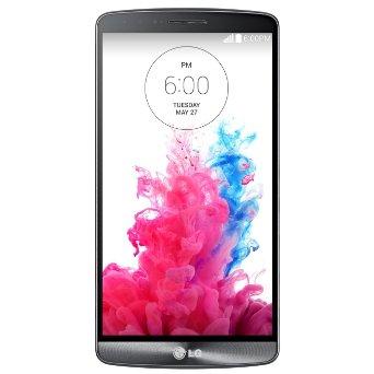 LG G3 D851 4G LTE, 32GB GSM Unlocked Smartphone (Metallic Black)