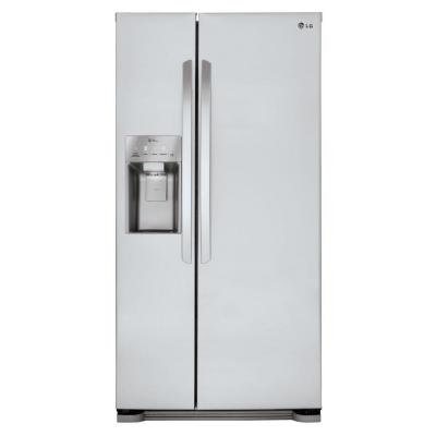 LG LSXS22423S 33 Side-By-Side Refrigerator (Stainless Steel)