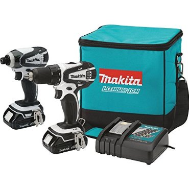 Makita CT200RW 2-Tool 18V Compact Li-Ion Cordless Combo Kit