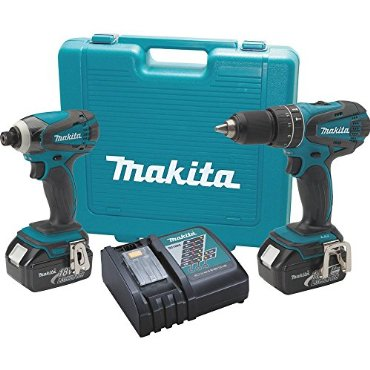 Makita XT211 18V LXT Lithium-Ion Cordless Combo Kit, 2-Piece