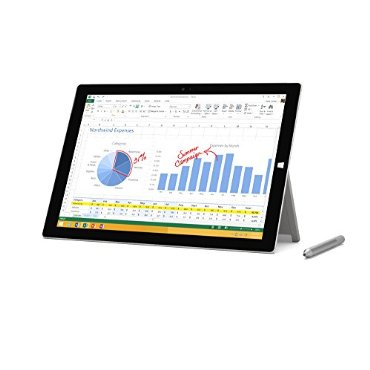 Microsoft Surface Pro 3 Tablet (12, 128 GB, Intel Core i5, Windows 10)