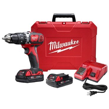 Milwaukee 2607-22CT M18 RedLithium 1/2 Hammer Drill/Driver Kit with Case