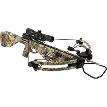 Parker ThunderHawk Crossbow Package with 3X Multi-Reticle Scope (X221-MR)