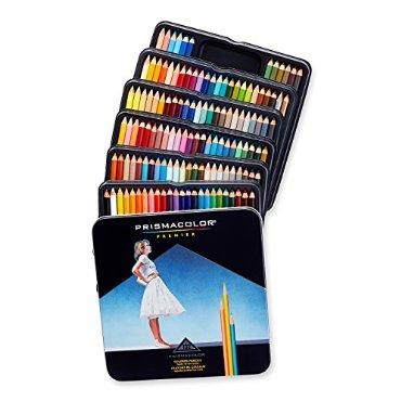 Prismacolor Premier Soft Core Colored Pencils (Tin of 132, # 4484)