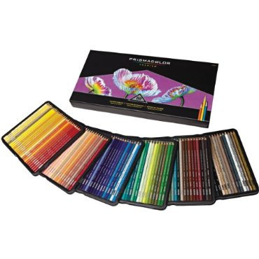 Prismacolor Premier Soft Core Colored Pencil, Soft-Core, Set of 150 Assorted Colors  (1799879)