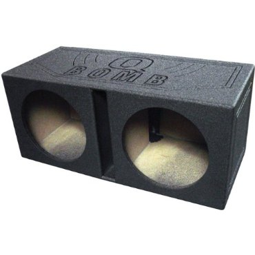 Q-Power QBOMB15V 15 Dual Vented Subwoofer Box Enclosure