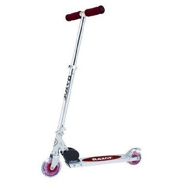Razor A Light Up Wheels Scooter - Red
