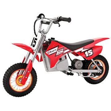 Razor MX400 Dirt Rocket with Lighted Valve Stem (Red)