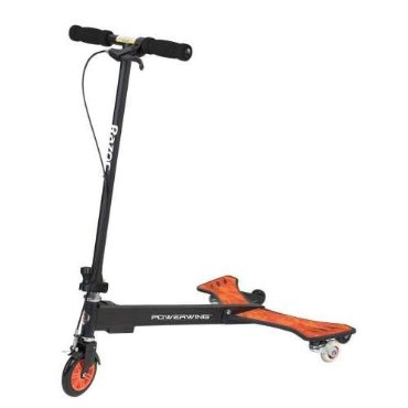 Razor Power Wing 3-Wheel Caster Scooter - Black