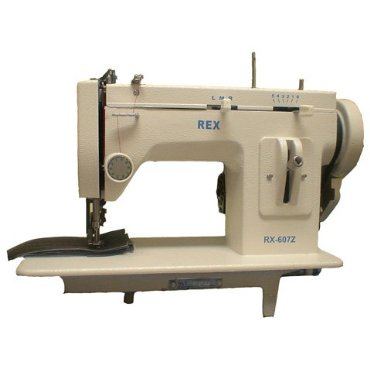 Rex RX-607Z Portable Walking Foot Zig-Zag Industrial Sewing Machine