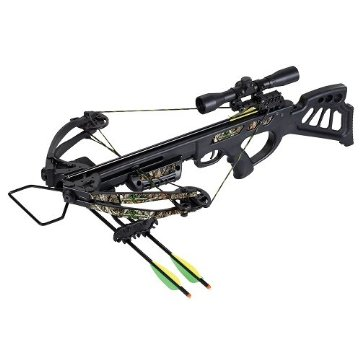 SA Sports Empire Dragon 340 FPS Crossbow Package (Black/Camo)