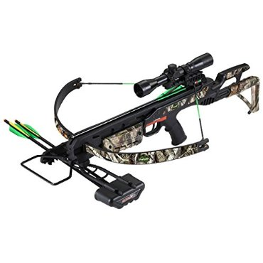 SA Sports Empire Terminator 260 FPS Crossbow (175-Pound, Black/Camo)