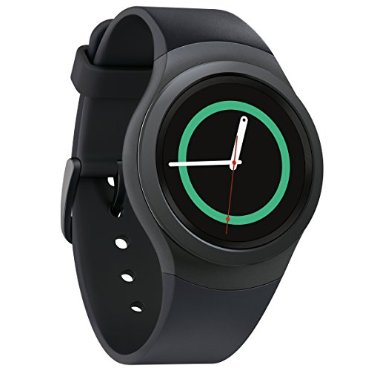 Samsung Gear S2 Android Smartwatch (Dark Gray, SM-R7200ZKAXAR)