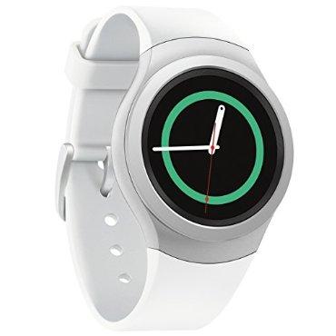 Samsung Gear S2 Android Smartwatch (White/Silver, SM-R7200ZWAXAR)
