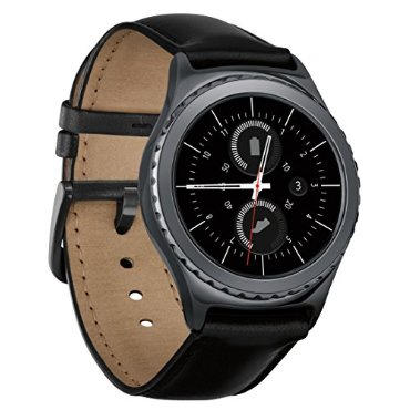 Samsung Gear S2 Classic Android Smartwatch (Black, SM-R7320ZKAXAR)