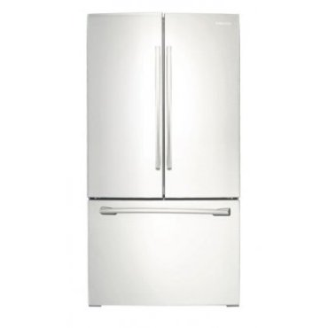 Samsung RF260BEAEWW 25.5 Cu. Ft. French Door Refrigerator (White)
