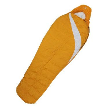 Tahoe Gear Polar Lite 100 Camping Mummy Sleeping Bag 32 Degree - Orange