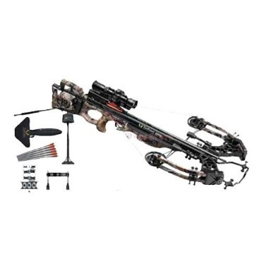 TenPoint Vapor Crossbow with RangeMaster Pro Scope and (6) Pro V22 Carbon Arrows (ACU draw, RealTree Camo, C13004-7411)