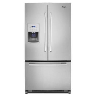 Whirlpool Gold GI0FSAXVY 36 Counter-Depth French Door 20 cu. ft. Refrigerator (Monochromatic Stainless Steel)