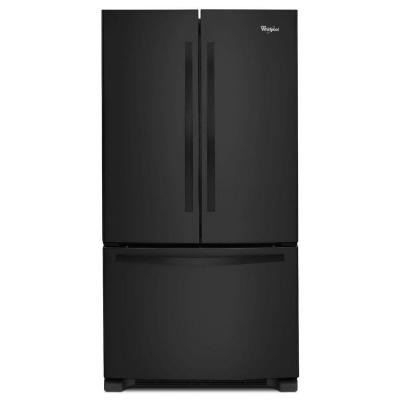 "Whirlpool WRF535SMBB 36"" French Door 25.2 cu. ft. Refrigerator (Black)"