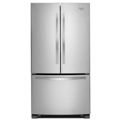 "Whirlpool WRF535SMBM 36"" French Door 18 cu. ft. Refrigerator (Monochromatic Stainless Steel)"