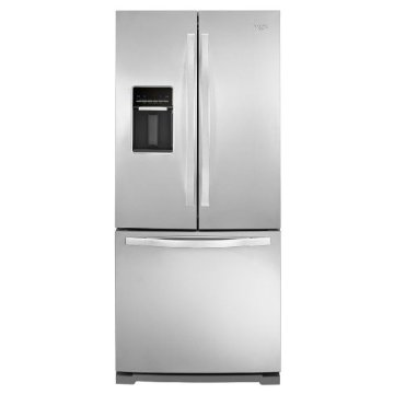 "Whirlpool WRF560SEYM 30"" French Door 19.5 cu. ft. Refrigerator (Stainless Steel)"