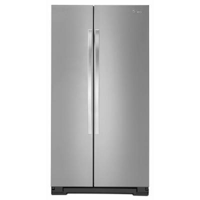 Whirlpool WRS322FNAM 33 Side-By-Side 21.6 cu. ft. Refrigerator (Monochromatic Stainless Steel)