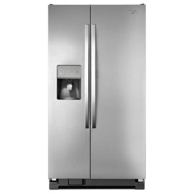 Whirlpool WRS331FDDM 33 Side-By-Side 21 cu. ft. Refrigerator (Monochromatic Stainless Steel)
