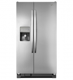 Whirlpool WRS335FDDM 36 Side-By-Side 24.5 cu. ft. Refrigerator (Stainless Steel)