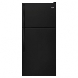 Whirlpool WRT318FZDB 30 Top-Freezer 18.2 cu. ft. Refrigerator (Black)