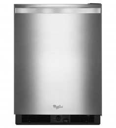 "Whirlpool WUR50X24EM 24"" Freestanding or Built In 5.6 cu. ft. Refrigerator (Monochromatic Stainless Steel)"