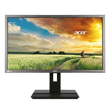 Acer B286HK ymjdpprz 28 UHD 4K2K (3840 x 2160) Widescreen Display with ErgoStand