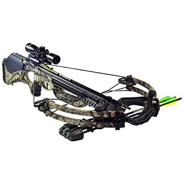 Barnett Ghost 410 Crossbow Package - Mossy Oak (78222)