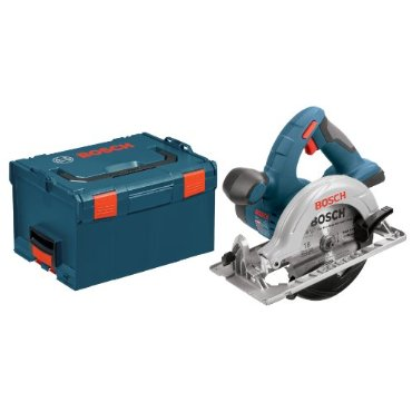 Bosch CCS180BL 18-Volt Lithium-Ion 6-1/2 Circular Saw  with L-BOXX-2 and Exact-Fit Tool Insert Tray (Bare-Tool)