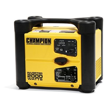 Champion 73536i Inverter Generator 2,000 Watt 4-Stroke Gas Powered Equipment