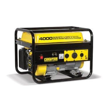 Champion Power Equipment Model 46596, 4,000 Watt Portable Gas Generator (Not Carb Compliant)
