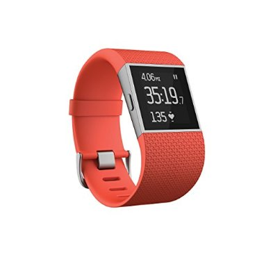 Fitbit Surge (Tangerine, Small)