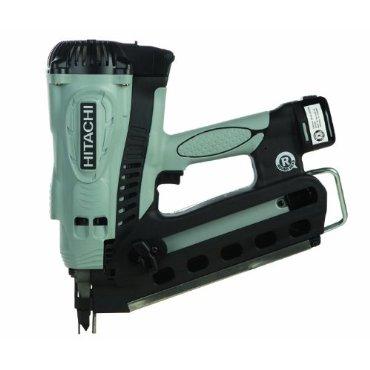 Hitachi NR90GR2 3.5 Gas Powered Plastic Strip Collated Cordless Framing Nailer Gun