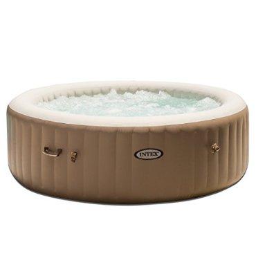 "Intex PureSpa 85"" 6-Person Heated Bubble Jet Massage Spa Set"