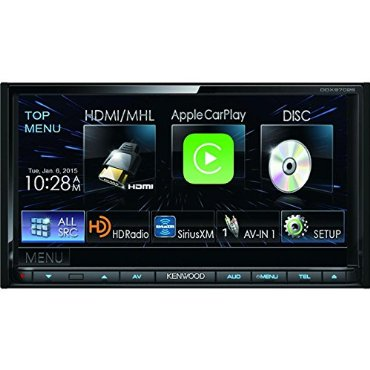 Kenwood DDX-9702S Touchscreen HD Radio Receiver with Bluetooth
