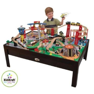 KidKraft Airport Express Train Table and Set