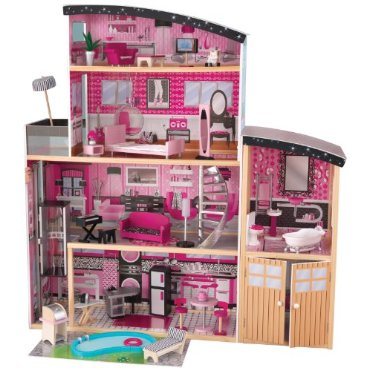 KidKraft Sparkle Mansion Dollhouse (65826)
