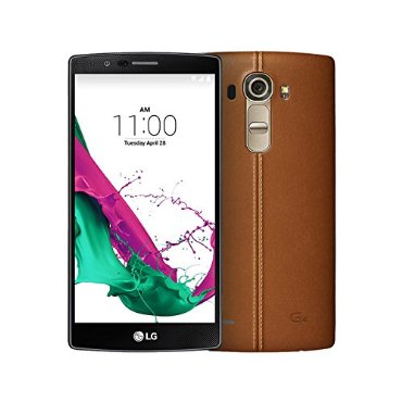 LG G4 32GB Factory Unlocked Phone (International Version No Warranty, H815, Brown Leather)