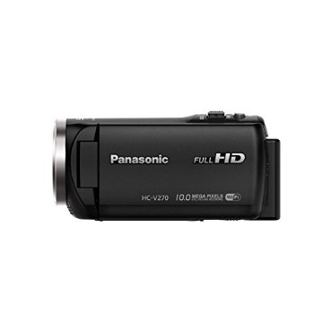 Panasonic HC-V270 Super Zoom Camcorder with Built-in WiFi
