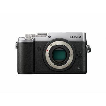 Panasonic Lumix DMC-GX8 Mirrorless 4K Camera with Dual Image Stabilization (Silver, Body Only)