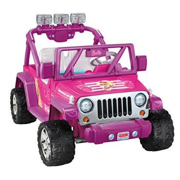 Power Wheels Barbie Deluxe Jeep Wrangler
