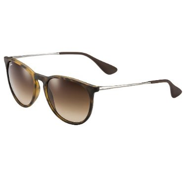 Ray Ban Erika Sunglasses RB4171 865/13 54-18  with Tortoise/Gunmetal Frame Brown Gradient Lenses