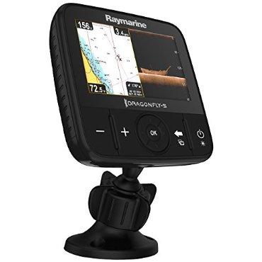 Raymarine Dragonfly 5 Pro Navionics+ Dual Channel Sonar/GPS with Navionics Gold US Lakes & Coastal Charts
